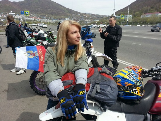 Kamchatka bikers open summer season