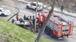Камчатские пожарные оказали помощь в ликвидации последствий ДТП