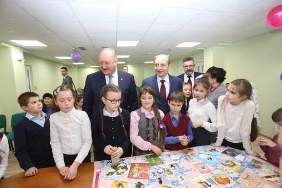 The new building of library is the gift for children of Kamchatka