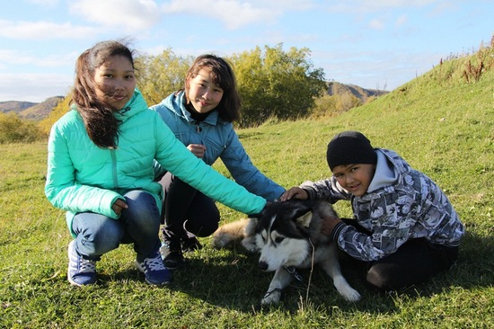 There is a new school of young mushers in the north of Kamchatka