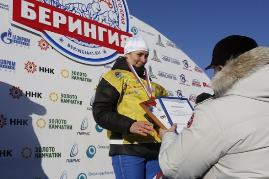 "Natalya Orehova won the prologue race ""Beringia-2017"""