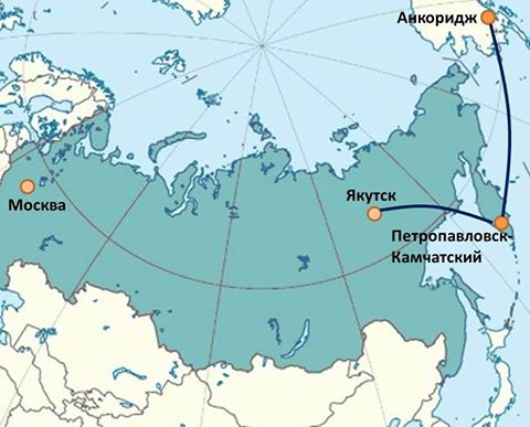 Flights to Anchorage in Alaska resumed in Kamchatka