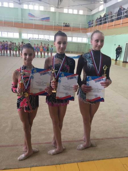 Подведены итоги классификационных соревнований открытого чемпионата и первенства Петропавловска по художественной гимнастике. 4