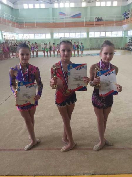 Подведены итоги классификационных соревнований открытого чемпионата и первенства Петропавловска по художественной гимнастике. 6