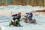 Snowmobile Competition in Kamchatka