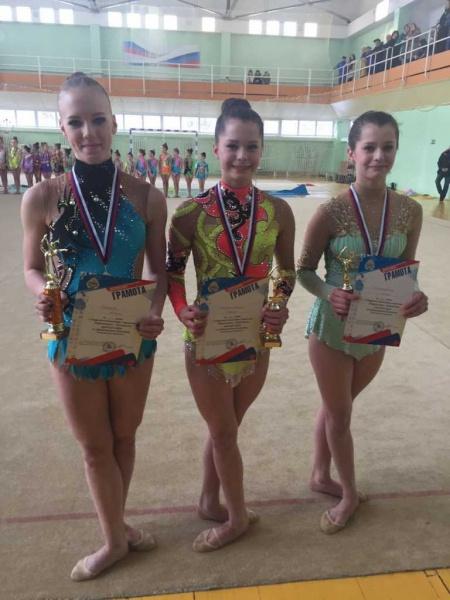 Подведены итоги классификационных соревнований открытого чемпионата и первенства Петропавловска по художественной гимнастике. 5