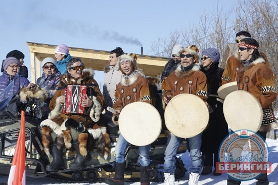 """Beringia-2017"": inhabitants of Kovran village met the race with a concert"