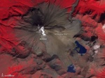 Satellite Images Highlight The Growth Of Russia's Kizimen Volcano