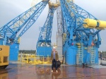 Students from Kamchatka in Vostochny Cosmodrome
